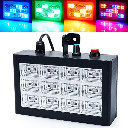 Strob Light LED στροβοσκοπικό φως 12 - Ιδανικό για πάρτι - Strobo Disco