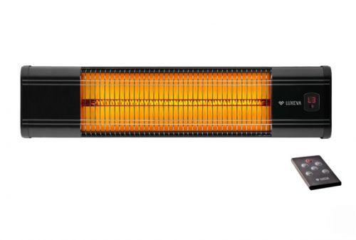 Νέο Ημί-Επαγγελματικό Υπέρυθρο Αλουμινένιο Θερμαντικό Τοίχου Τεχνολογίας Άνθρακα με Θερμοστάτη LUXEVA LXV-2500-HR - Φθηνή και Αποδοτική Λύση Θέρμανσης Σπιτιού και Επαγγελματικού Χώρου