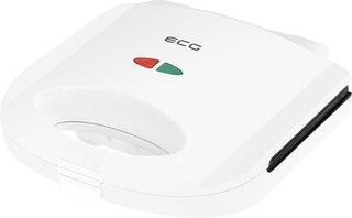 Τοστιέρα/Σαντουϊτσιέρα 2 τετράγωνων θέσεων 750W S1170 ECG λευκή