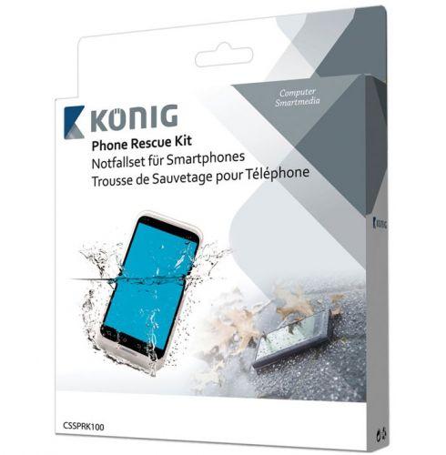 Kit αφαίρεσης υγρασίας για smartphones και κινητά KONIG CSS PRK 100 - Αποκατάσταση βρεγμένων συσκευών