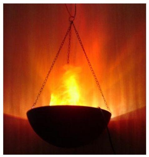 Φωτιστικό με εφέ φλόγας με βάση ή κρεμαστό