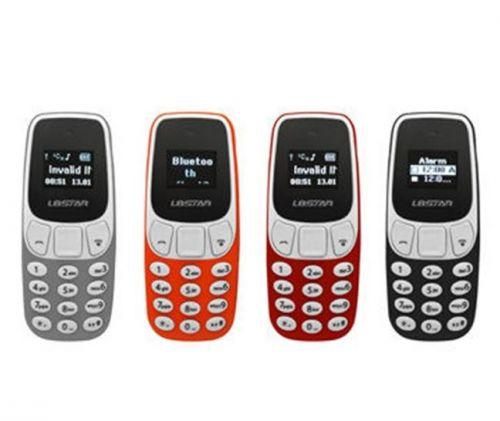 OEM Super Mini Κινητό με 2 κάρτες Sim και αλλαγή φωνής μέγεθος όσο ο αντίχειρας και βάρος 60gr Το μικρότερο κινητό στον κόσμο και με ΔΩΡΟ ΘΗΚΗ
