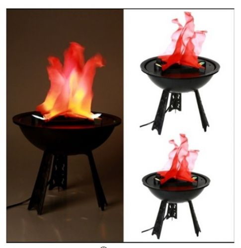 Φωτιστικό με εφέ φλόγας με βάση