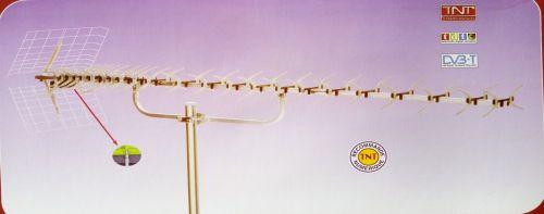 ΥΠΕΡΕΝΙΣΧΥΜΕΝΗ ΚΕΡΑΙΑ UHF 91 ΣΤΟΙΧΕΙΩΝ ΧΕΛΙΔΟΝΟΤΗΣ ΤΕΧΝΟΛΟΓΙΑΣ SABER ANTENNA UHF 91 EL DVB-T ΜΕ ΦΙΛΤΡΟ ΠΑΡΕΜΒΟΛΩΝ LTE 40dB LARGE