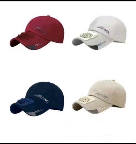 Universal Καπέλο Jokey με Ανεμιστήρα δροσισμού Επαναφορτιζόμενο