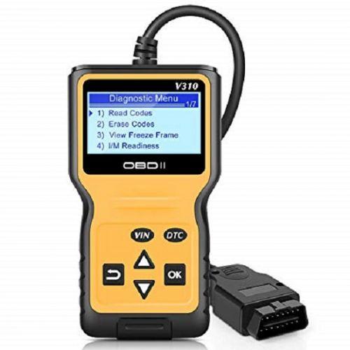 Φορητό Διαγνωστικό Βλαβών Αυτοκινήτου V310 OBDII - Διαγνώστης βλαβών OBD CHECK ENGINE με Λειτουργία Real Time