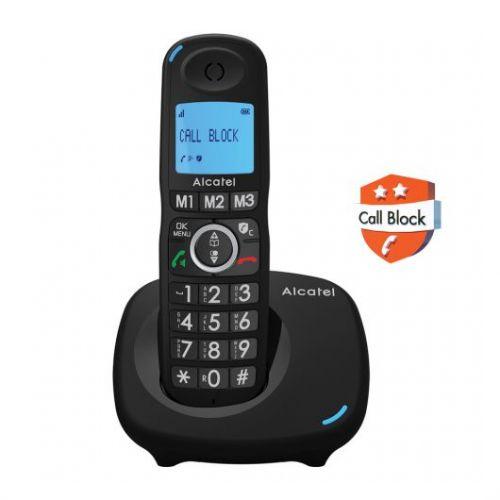 Ασύρματο τηλέφωνο Alcatel με δυνατότητα αποκλεισμού κλήσεων XL535