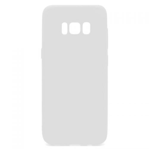 Original inos Θήκη Soft TPU for Samsung G955F Galaxy S8 Plus S-Cover Frost