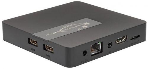 OTT TV BOX με λειτουργικό Android™ Υψηλής Ανάλυσης Υψηλής Ευκρίνειας (4K 60fps UHD) Με 2 θύρες USB, HDMI, θύρα δικτύου RJ45, ενσωματωμένη ασύρματη κάρτα δικτύου ANDROID BOX G-200 FULL PACK