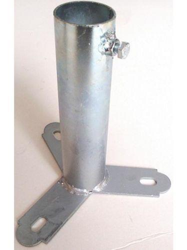 Στήριγμα κεραίας Βάση δαπέδου 150mm με βίδα - Γαλβανισμένο για μεγάλη αντοχή στον χρόνο