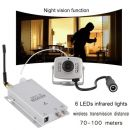 Ασύρματη κάμερα με νυχτερινή όραση 1.2G Mini Wireless TV Night Vision Security Camera Receiver Kit ISM 900-1230MHz