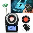 Αντι-κοριός Ανιχνευτής Ασύρματων κοριών, πομπών, καμερών, μικροφώνων και συσκευών παρακολούθησης CC309 GPS GSM WIFI G3 G4 SMS RF SPY BUG DETECTOR AND LASER CAMERALENS FINDER and LED με αυτόματη ανίχνευση