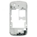 Γνήσιο Μεσαίο Πλαίσιο Sony Ericsson W100i Spiro Λευκό