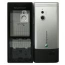 Γνήσια Πρόσοψη Sony Ericsson J10 Elm Μαύρο-Ασημί