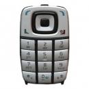 Πληκτρολόγιο Nokia 6101 Ασημί