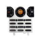 Γνήσιο Πληκτρολόγιο Sony Ericsson W610 Μαύρο-Πορτοκαλί