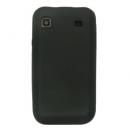 Θήκη Silicon Samsung i9000 Galaxy S Flat Μαύρο