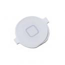Κεντρικό Πλήκτρο Apple iPhone 4 Λευκό (Home Button)