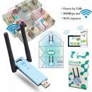 OEM WiFi Ενισχυτής και αναμεταδότης μέσω θύρας USB - 802.11N 300Mbps WIFI Repeater USB Wireless Range Extender External Dual Antenna