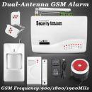 ΑΣΥΡΜΑΤΟΣ ΣΥΝΑΓΕΡΜΟΣ ΜΕ GSM Τηλεφωνική Ενημέρωση Full Pack με Ασύρματο Radar, 2 Ασύρματες παγίδες, Σειρήνα, 2 τηλεχειριστήρια, Dual Antenna - Wireless GSM Home Security Burglar Alarm System Auto Dialer SMS SIM Call 433MHz