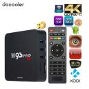 SmartBox docooler M9S-PRO Amlogic S905X Quad Core Android TV Box 64bit 16.0 3G 32G 4K TV Box WiFi H.265