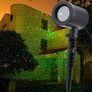 Mini Laser Εξωτερικού Χώρου με Τηλεχειριστήριο CLL-15 laser projector Christmas laser Χριστουγέννων