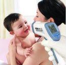 """Θερμόμετρο πυρετού σώματος χωρίς επαφή υπερύθρων με laser ακριβής μέτρηση σε 2"""" OEM"""