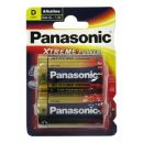 Μπαταρίες Xtreme Power Alkaline Panasonic LR20 (2 τεμ.)