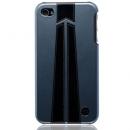 Θήκη Δερμάτινη Trexta Apple iPhone 4 Autobahn Μαύρο σε Ασημί