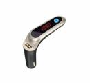 Νέο FM Transmitter Αυτοκινήτου με Bluetooth και Φωτιζόμενη Οθόνη Cars7