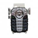 Πληκτρολόγιο Motorola V360 Μπλε-Ασημι