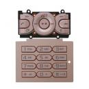 Γνήσιο Πληκτρολόγιο Sony Ericsson W595 Ροζ