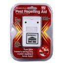 Διπλής Τεχνολογίας Ηλεκτρονικός Απωθητής Κατσαρίδων, Αραχνών, Ποντικιών - Pest Repelling Aid Riddex PLUS