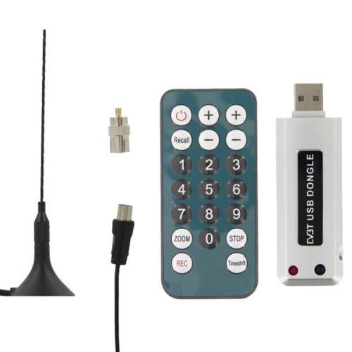 Επίγειος Αποκωδικοποιητής MPEG4 USB USB TV Tuner DVB-T Receiver MPEG-4 incl.28 dB DVB-T antenna